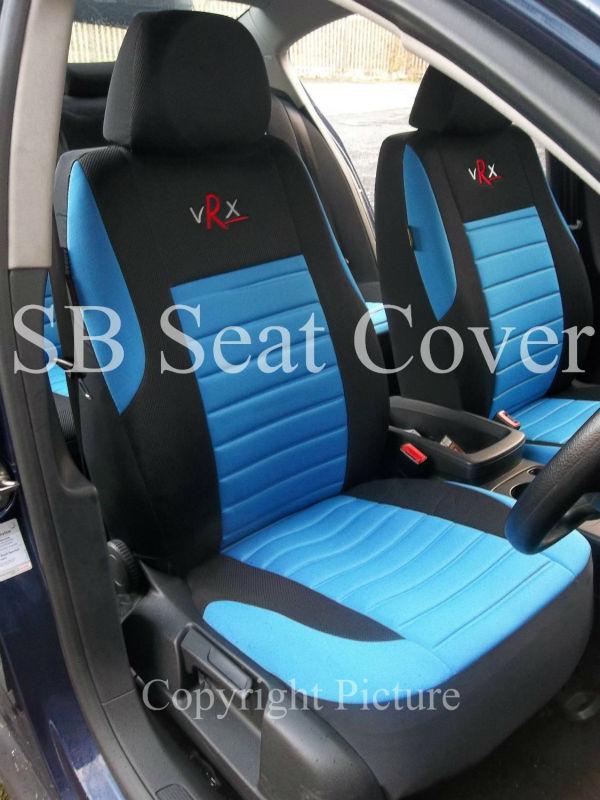 Vrx Sport Blue Car Seat Covers Full Set