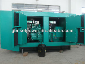 Building Silent soundproof housing 250kva Diesel Generator Price With Cummins Engine