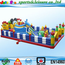 inflatable katong playground, inflatable fun city, giant inflatable amusement park
