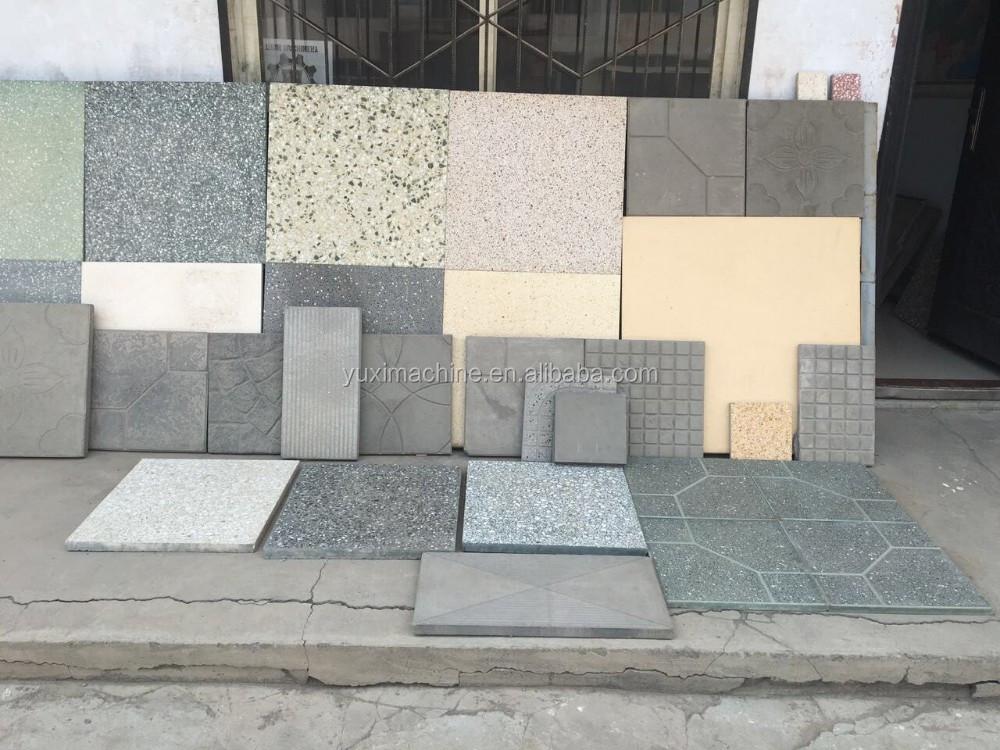 Calcestruzzo terrazzo al piano tile fa macchina ceramica pavimento