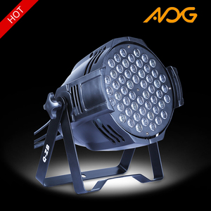 CE ROHS China cheap dmx 54x3W LED RGBW color par can DJ bar cast aluminium par light