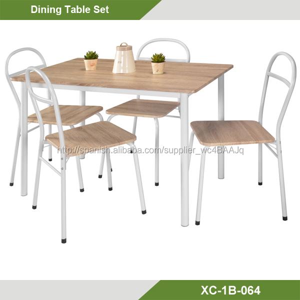 Conjunto mesa + 4 sillas barato oferta-Sets de muebles de metal ...