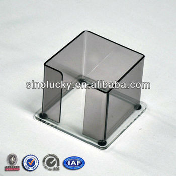 office paper holder. Tea Color PMMA Paper Holder,Acrylic Holder For Office Or Bank S