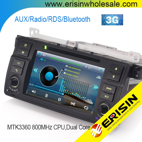 Erisin ES7162B 7 inch E46 Auto Radio 2 Din Car DVD GPS Player