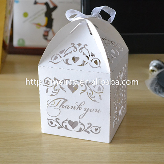 Personalized Laser Cut Islamic Wedding Favors Paper Craft Wedding