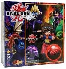 Bakugan Battle Brawlers 100 Piece Puzzle - 'Brawlers'
