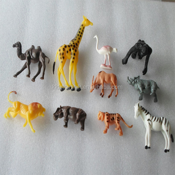 3d Cheaper High Quality Plastic Wild Animal Toy And Zoo Animal Toy