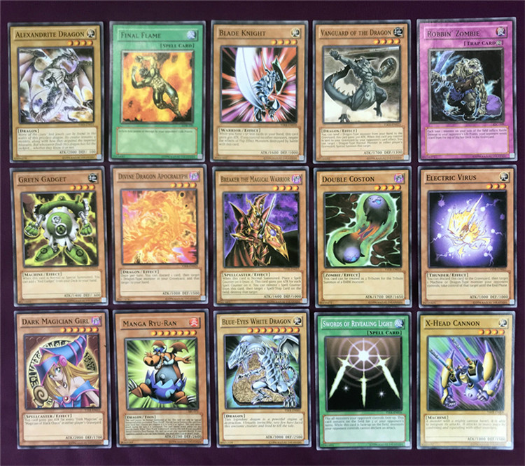 English version  game king card game king board game card three magic god classic Yugioh card group