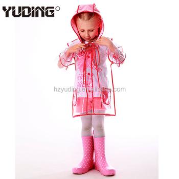 Frauen Buy Lange Dame Transparent Mode Regenmantel Regen regenmantel Eva Klar Mantel regenmantel Modischen Regenmantel Für f6v7gYby