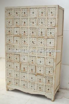 Chinese Antique Medicine Storage Cabinet
