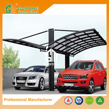 G-MORE Professional Carport Manufacturer, High Grade New Style Easy DIY Elegant Aluminium/Solid PC Carport/Garages