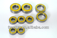 High Performance CROSS-FIRE FORCE F1 ELECTRIC steel bearing kits with different rubber seal color