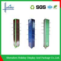 Promotion Custom Cardboard Hair Extension Display Stand,Hair Salon Color Display Shelf,Paper Hair Dryer Display Rack
