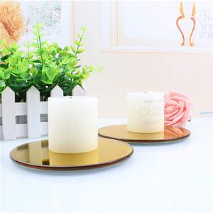 manufacturing mirror candle plate for pillar candle