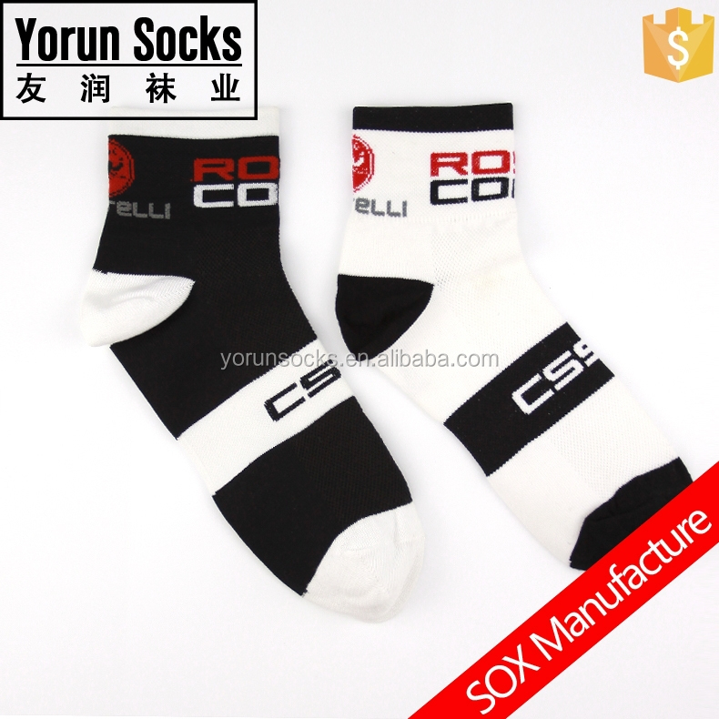 Customized Colorful Sport Compression Polyamides Cycling Wholesale Socks