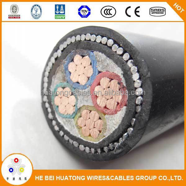 0.6/1kv pvc insualted armoured 4 x 16 sqmm power cable