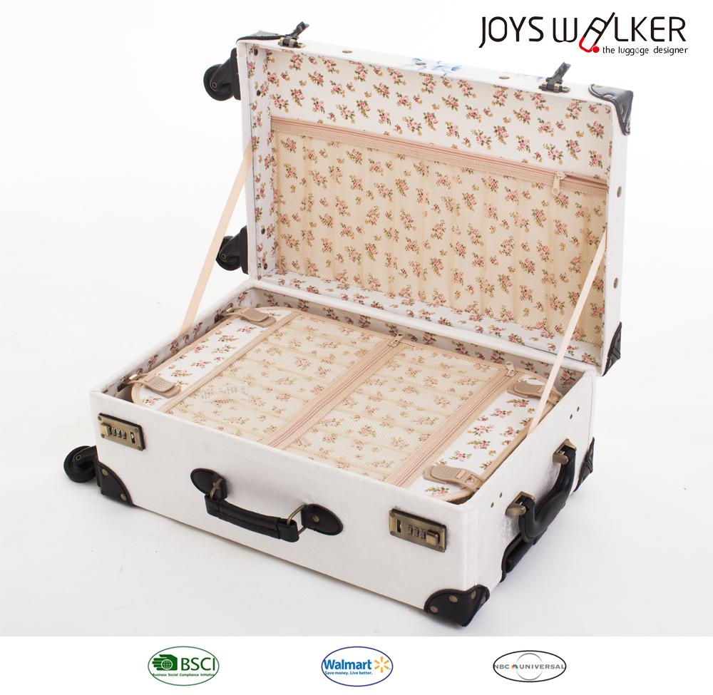 Чемоданы в винтажном стиле детские чемоданы на колесах империя сумок