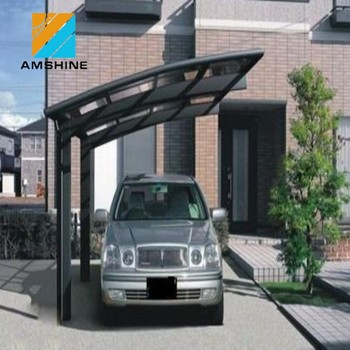 Waterproof Aluminum Carport Garden Sheds For Car And Motorcycle