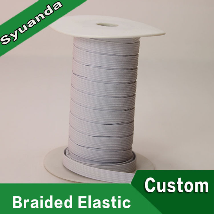 Customizes elastic braid band for shoes