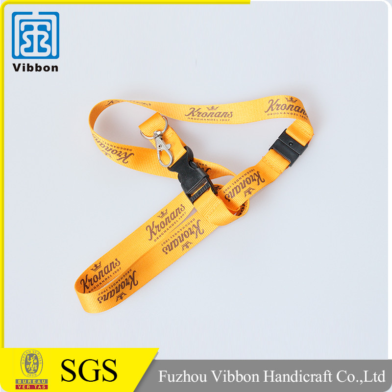 Custom design id card holder polyester lanyards with logo