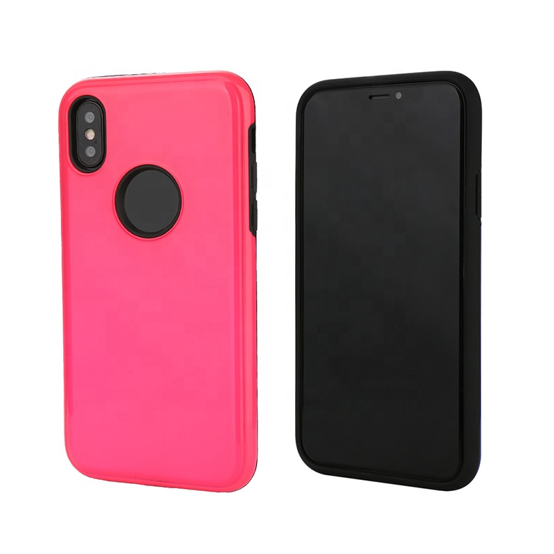 Factory directly sale UV oil TPU+PC combo protector case for Iphone5/5S/6P