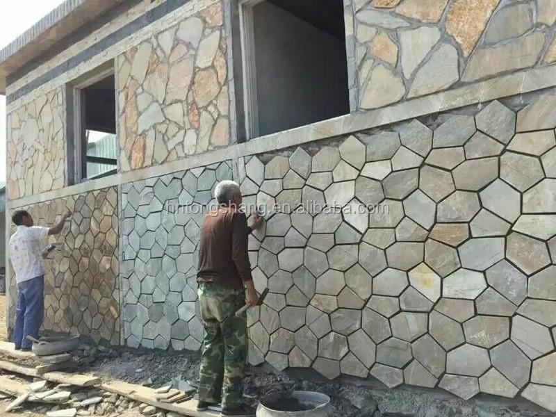 Kultur SteinWandverkleidung Für Innen Und AußenSchiefer Wand Stein - Stein fliesen außenbereich