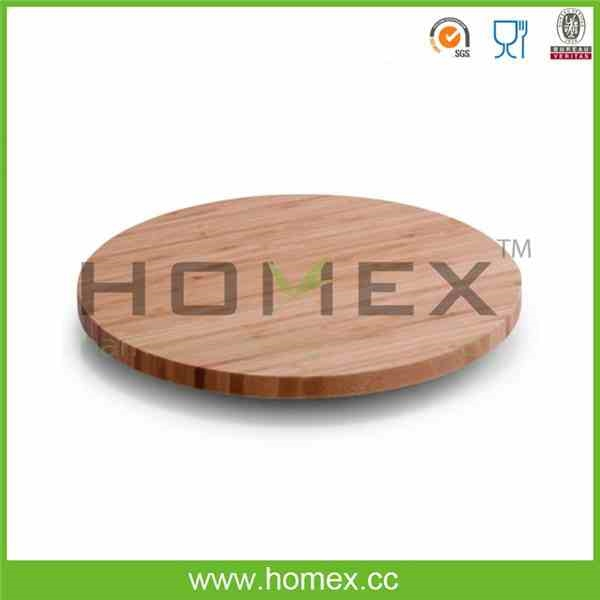 Bamboo Solid Lazy Susan/Table Turn/Revolving Tray-HOMEX-BSCI