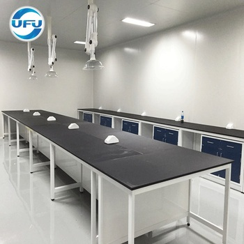 Modern School Furniture Computer Lab Laboratory Workbench View Island With Hanging Cabinets Utec Product Details From