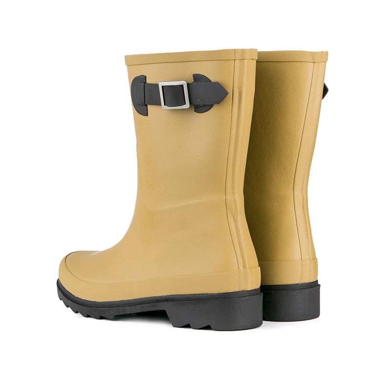 Womens rain boot ladies rubber rain boots Half boot ladies rubber shoes