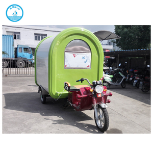 Custom made food cart business franchise/trailer for panama food/chinese food truck
