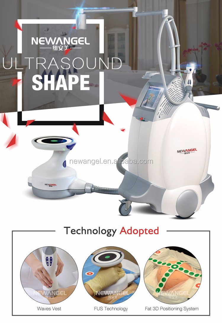 High intensity fat removal slimming ultrasound with FUS technology / 3D positioning system
