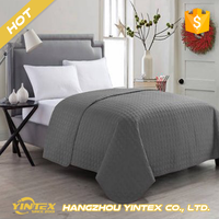 Queen Size or custom super soft wholesale cheap hotel hospital microfiber 4 pcs bed sheet set