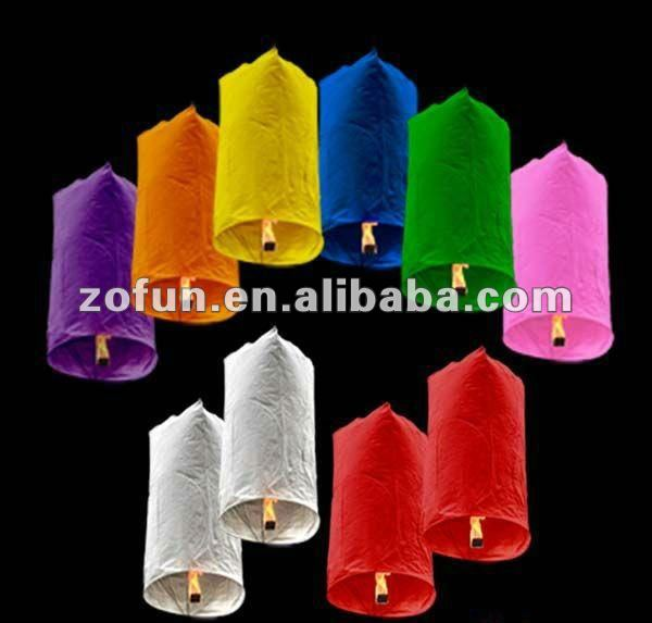 hot sale japanese Sky lanterns wish balloons for festival