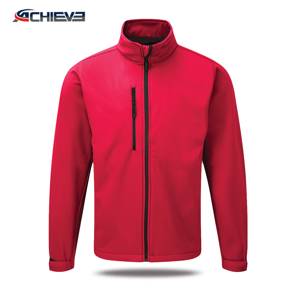 sublimated jacket 3d print men red wholesale