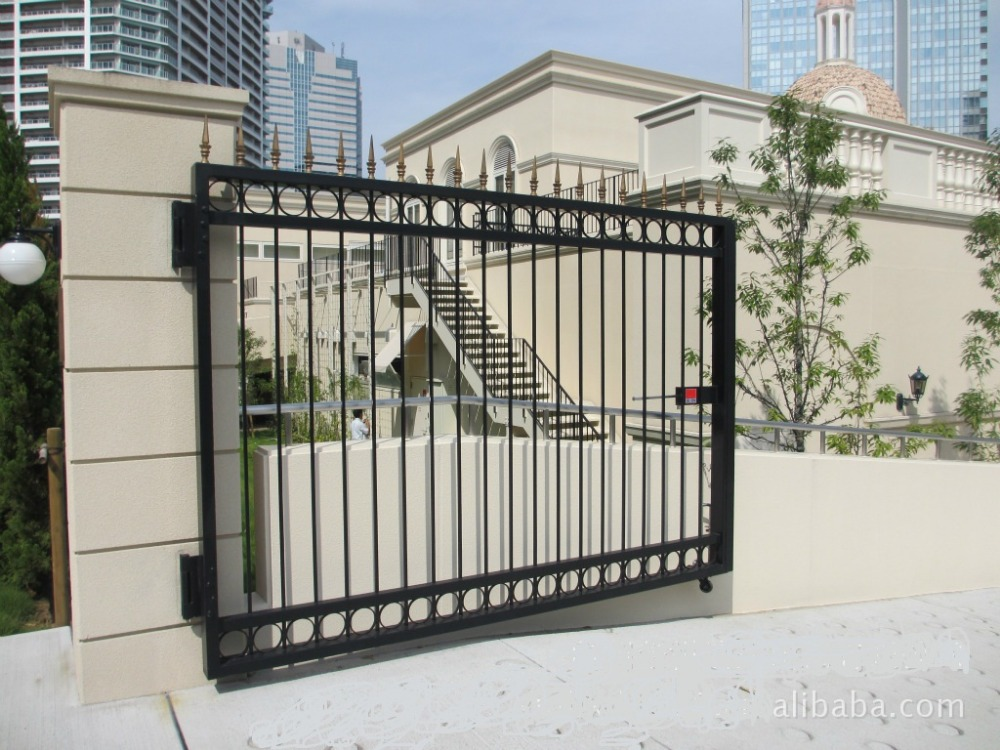 Wrought iron gate designs main design metal