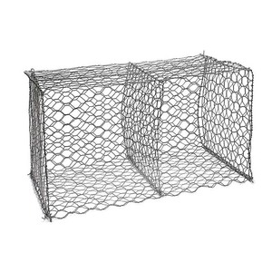 factory prices cost pvc coated galvanized stone slope protect gabion wire mesh basket wall