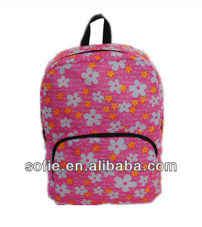 Korean High School Students Backpacks Wholesale School bags Simple Personalised ad Backpack