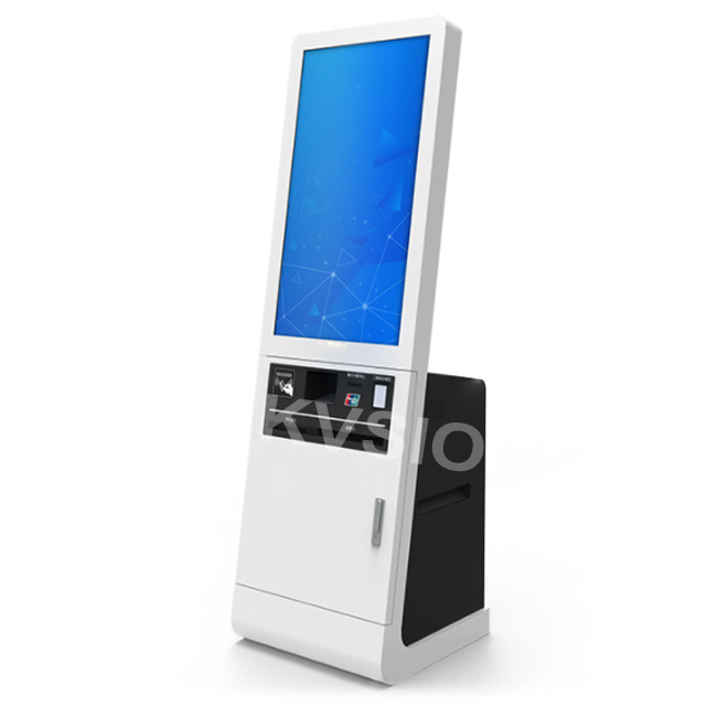 Free standing photo booth stampa chiosco software cibo coupon stampante