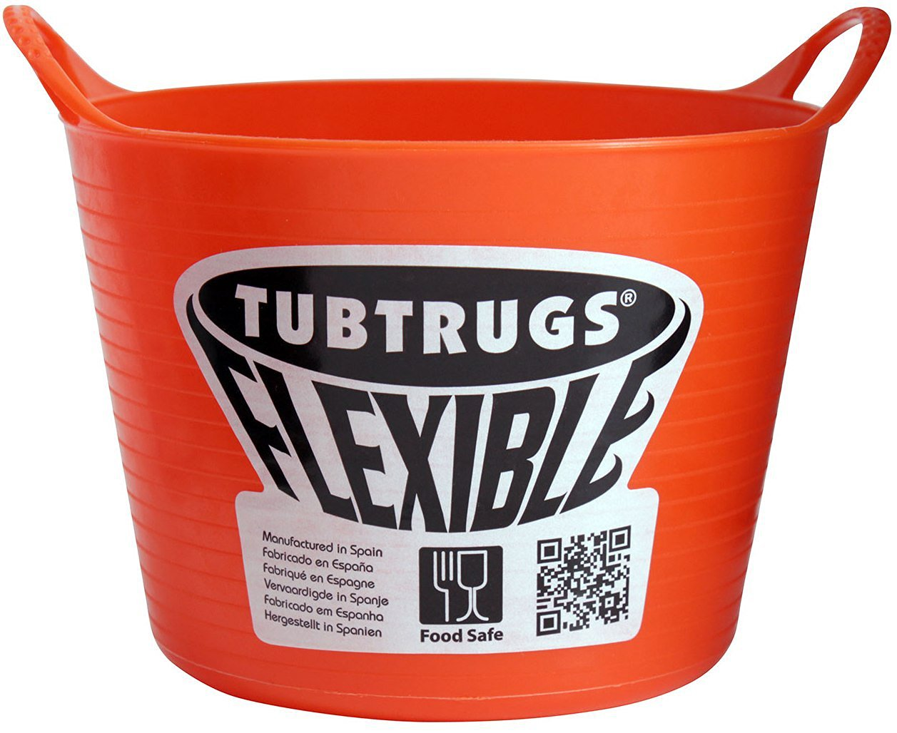 Tubtrugs SPMICO Flexible Orange Micro .37 Liter/12.5 Ounce Capacity