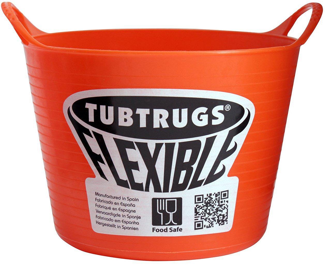 Tubtrugs SPMICO Flexible Orange Micro .37 Liter/12.5 Ounce Capacity