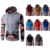 Lower MOQ wholesale hoodie Men's Patchwork Design 3D Printed Hoodie