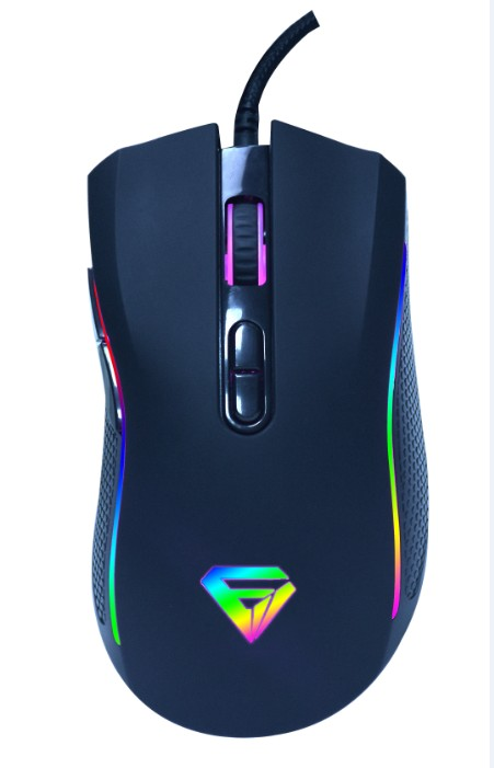 7D Macro Programmable Gaming Mouse with rgb lights