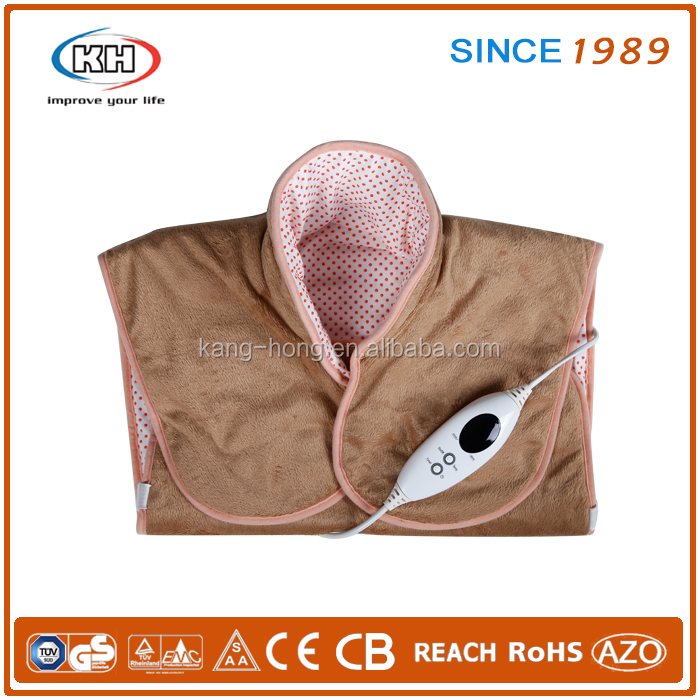 Shoulder and back heating pad