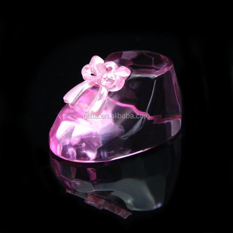 Glitta сияющий кристалл детская обувь для девочек Очаровательны Baby Shower Кристалл Детские Чистка Свадебные Сувениры CG076 Оптовая продажа, изготовление, производство
