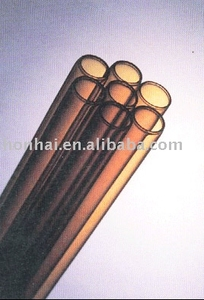 Amber Neutral Pharmaceutical Glass Tube USP Type 1