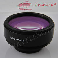 SL3 series triplet lens style F theta scan lens 9.4/10.6um CO2 laser RONAR-SMITH