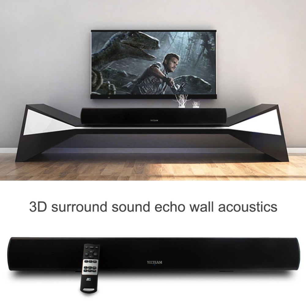 3d Surround Wireless Soundbar With Super Bass System 34