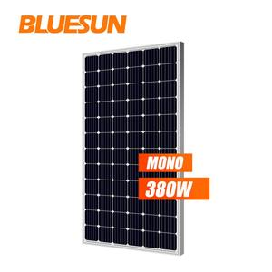 CIF Mono solar panel 380wp slim solar panel 380 watt for free delivery 24V solar system home use