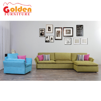 Living Room Sofa Combination Fashion Mix Color Sofa Corner Sofa