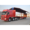 Sinotruk Howo 3 axle 50ton wing van truck for products rapid shipment